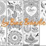 Zusammenstellung MANDALA miniklein 150x150 - Vorlagenmappe Sonnentage & Blütenträume