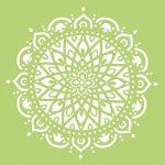 Schablone Mandala 7 150x150 - Stempel & Schablonen