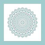 Schablone Mandala 8 150x150 - Stempel & Schablonen