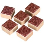 Stempel Set quadratisch 150x150 - Stempel & Schablonen