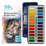 Aquarellfarben 24 Farben 150x150 - Farben & Zubehör