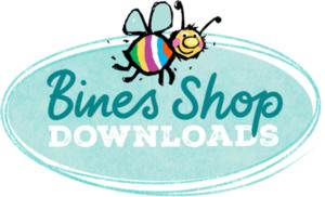 Logo Bines Shop 300x182 - Bine Brändle - Meine bunte Welt - kreativ, bunt und verspielt